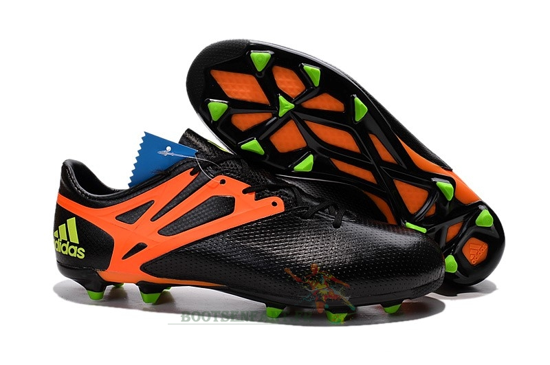Adidas Messi 15.3 FG Noir Orange En Ligne
