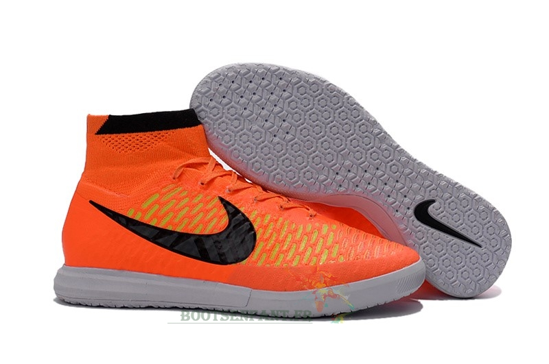 Nike MagistaX IC Orange Noir En Ligne