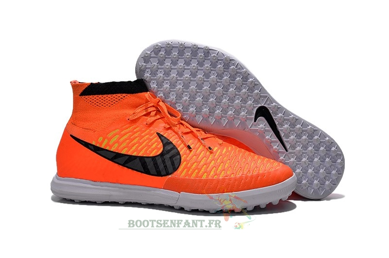 Nike MagistaX Proximo TF Orange Noir En Ligne