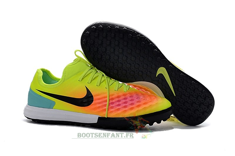 Nike MagistaX TF Jaune Orange En Ligne