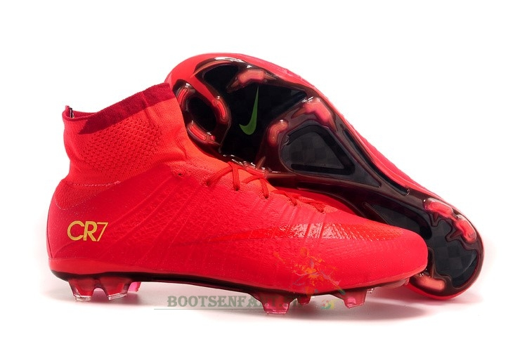 pretty nice 29133 5ca04 Nike Mercurial Superfly CR7 Enfant FG Rouge En Ligne