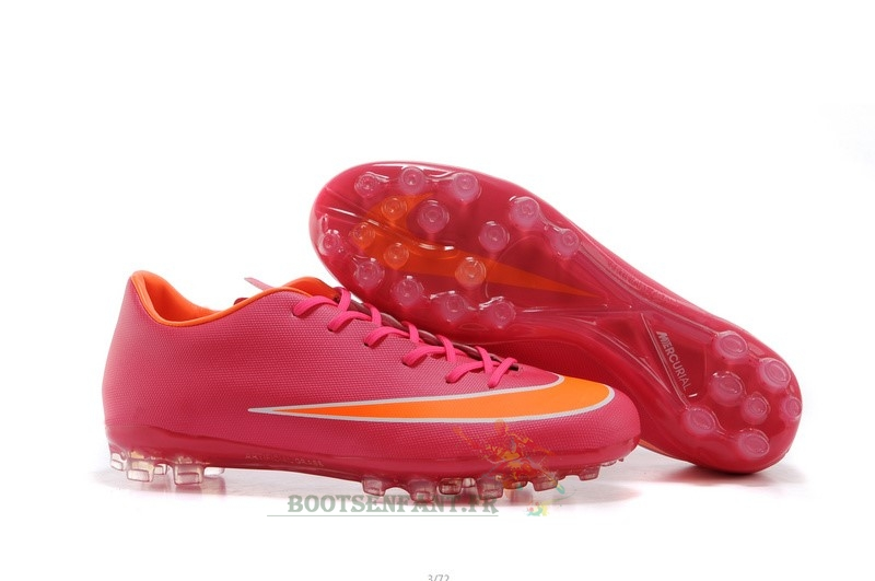 Nike Mercurial X Vapor AG Rose Orange En Ligne