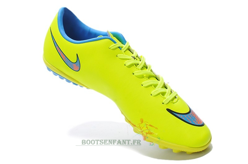Ventes Nike Mercurial X Victory Femme TF Vert Fluorescent