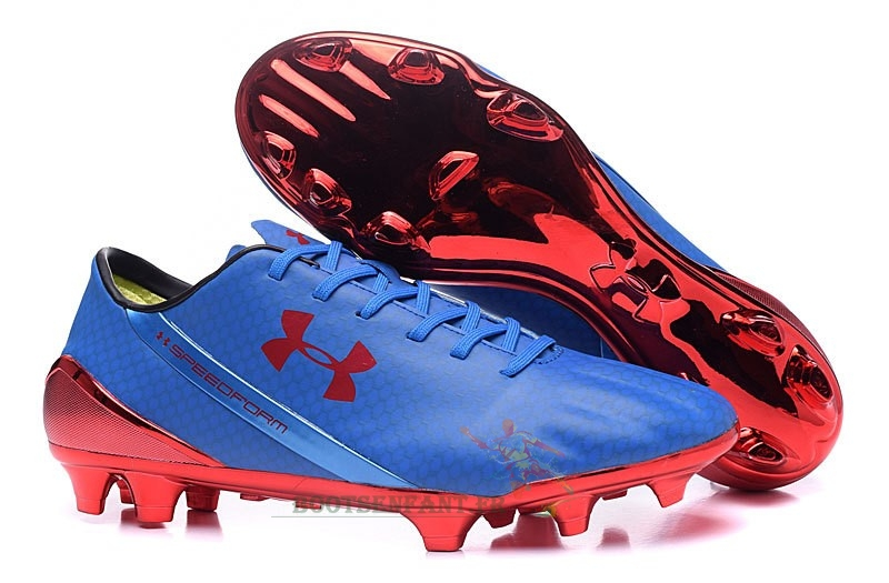 Under Armour Speedform FG Bleu Rouge En Ligne