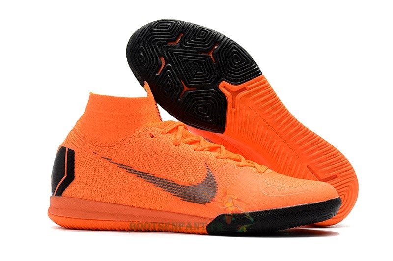 Nike SuperflyX 6 Elite IC Orange En Ligne