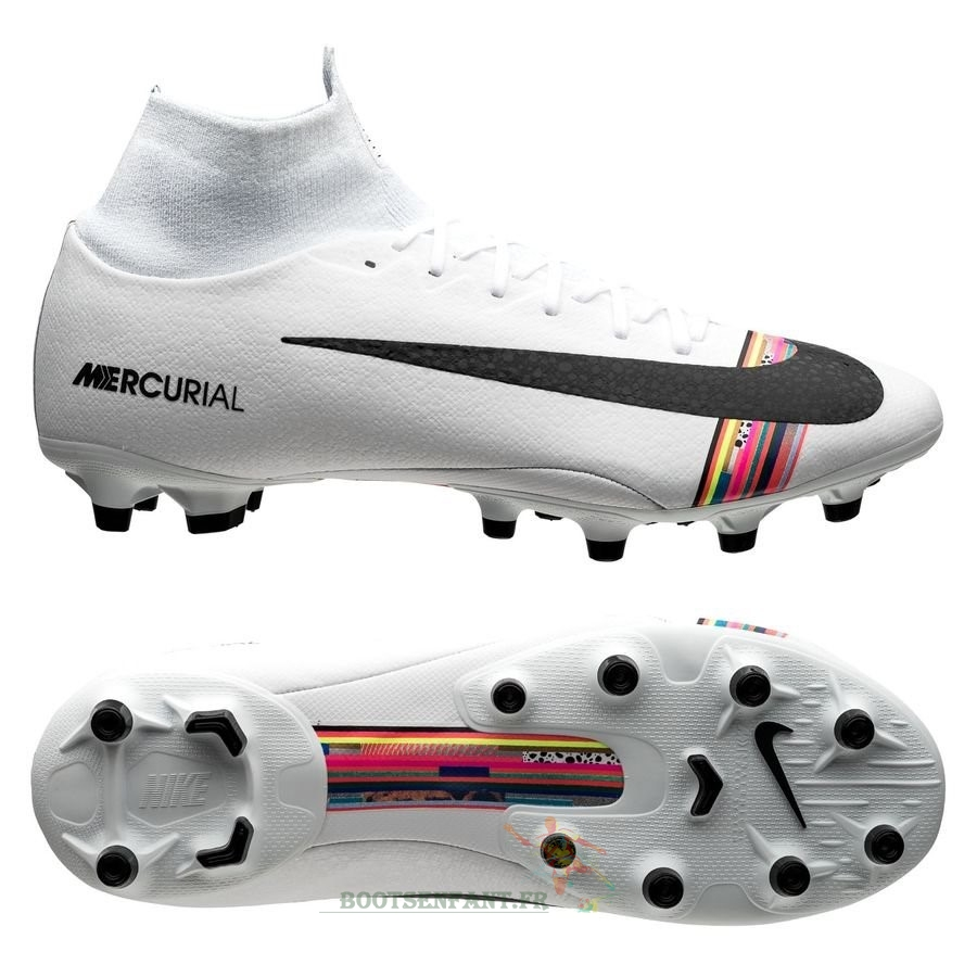Nike Mercurial Superfly 6 Pro AG PRO LVL UP Blanc En Ligne