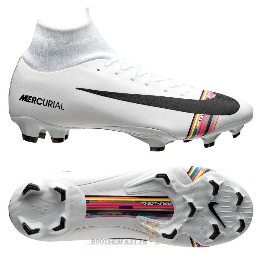Nike Mercurial Superfly 6 Pro FG LVL UP Blanc En Ligne