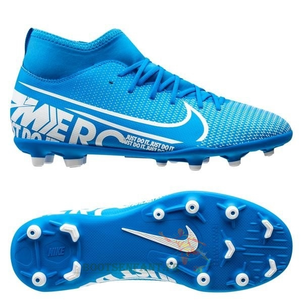 Nike Mercurial Superfly 7 Club MG Bleu En Ligne